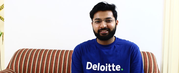 Dawood works at Deloitte