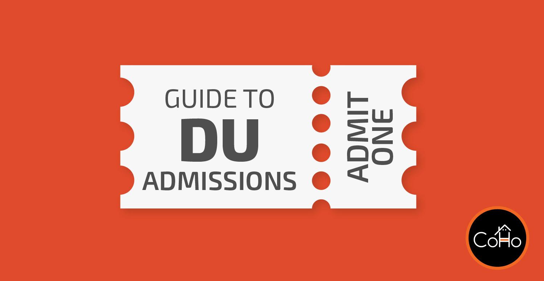 DU Admission Schedule
