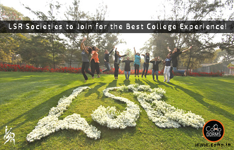 LSR Societies to join for the best college experience!