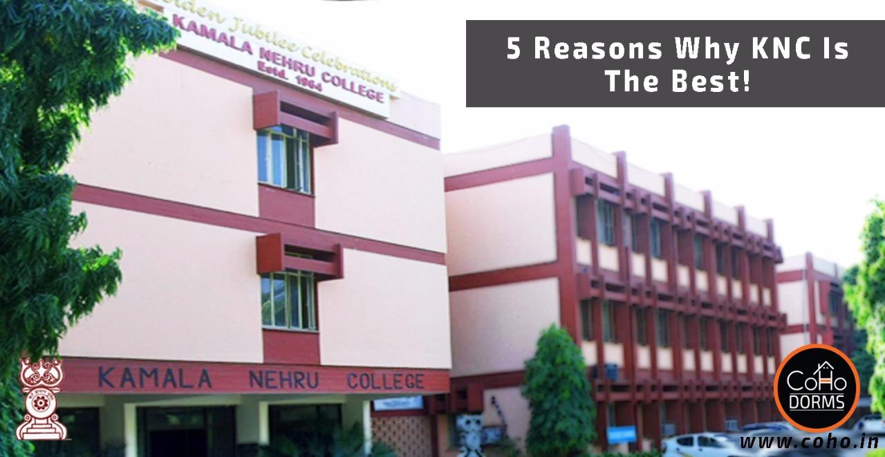5 Reasons Why Kamla Nehru College Is The Best!