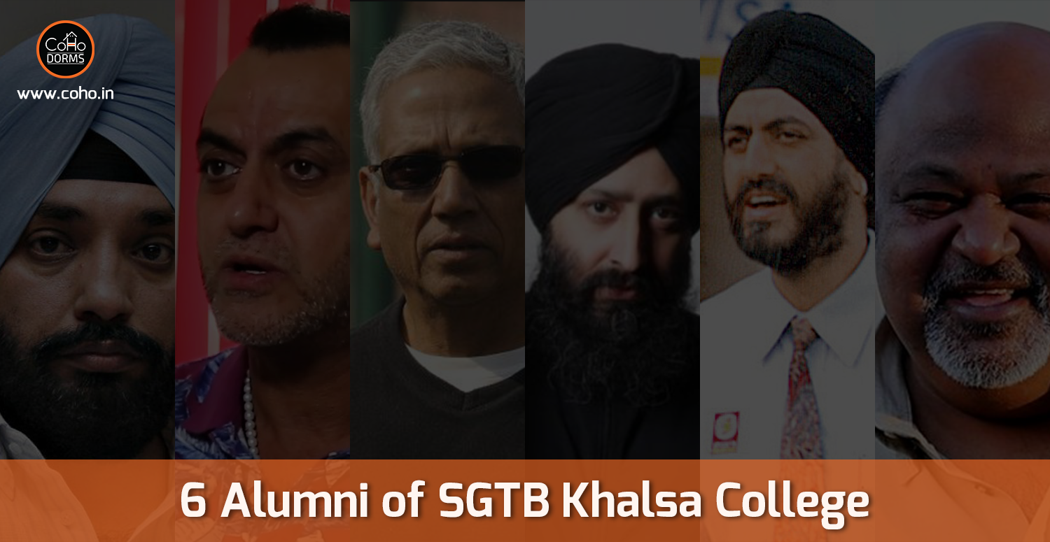 6 Alumni of SGTB Khalsa College