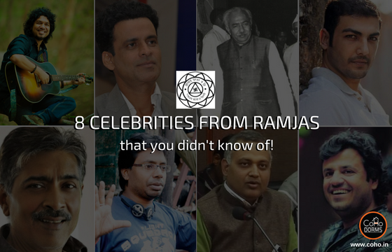 Did you know these people went to Ramjas?
