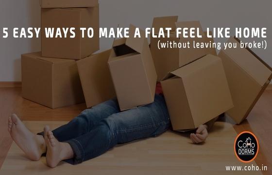 5 Easy Ways To Make A Delhi Flat Feel Like Home - CoHo