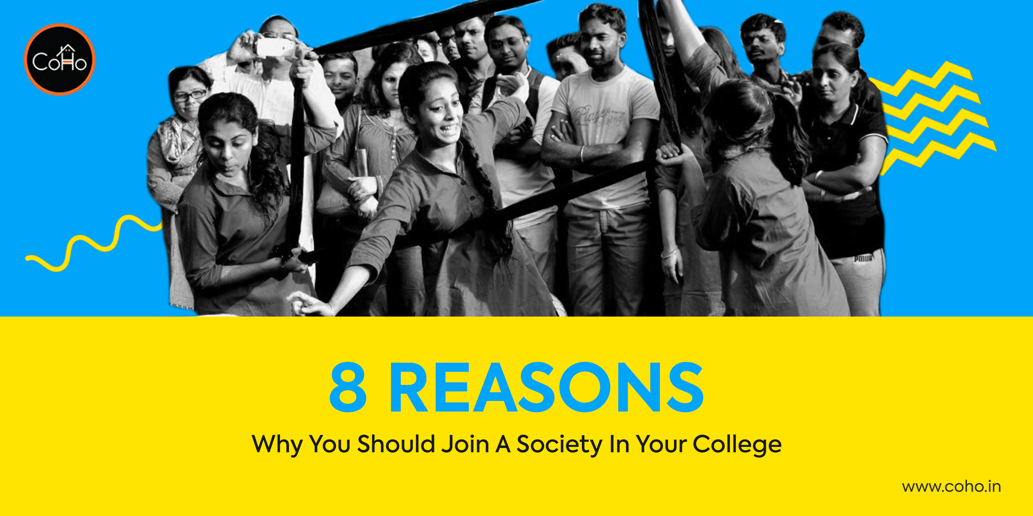 8 Reasons To Join A Society In Your College