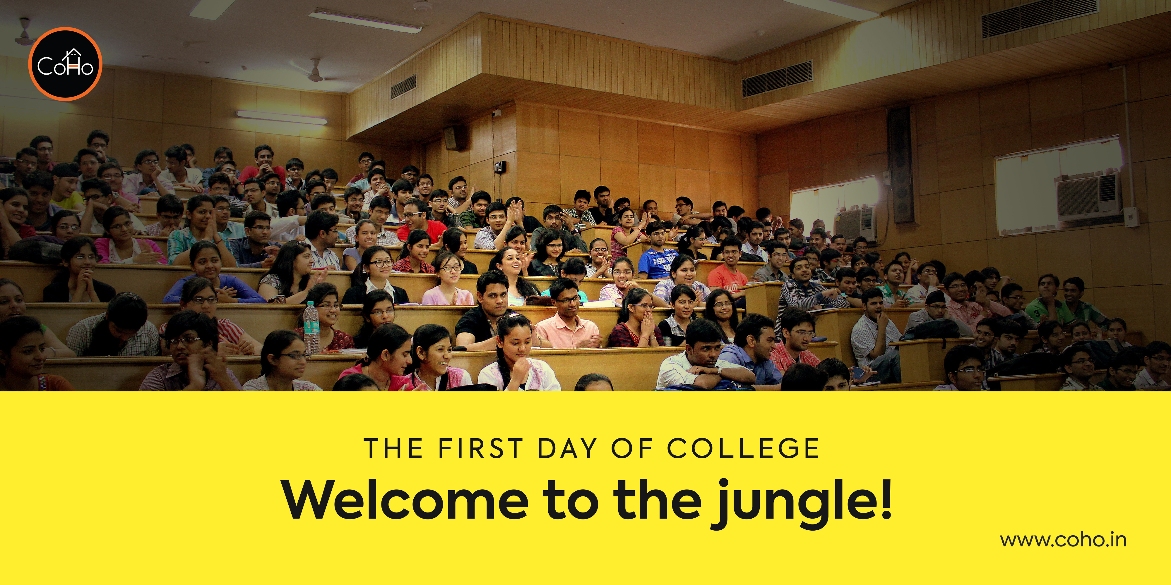 The First Day of College - Welcome to the jungle!