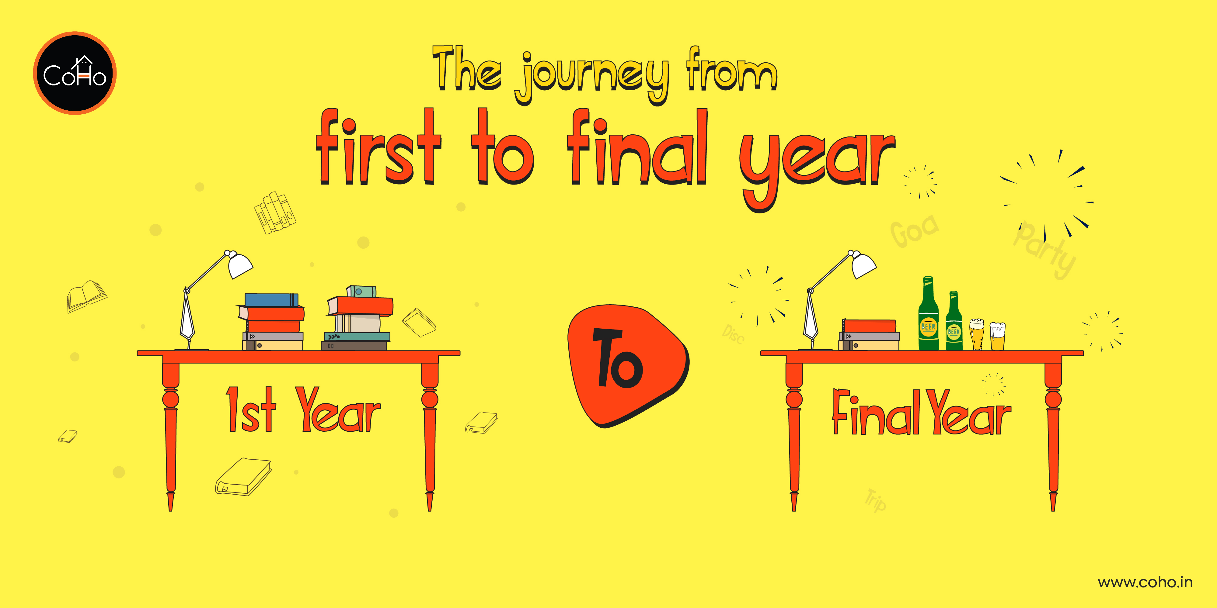 The journey from first to final year!
