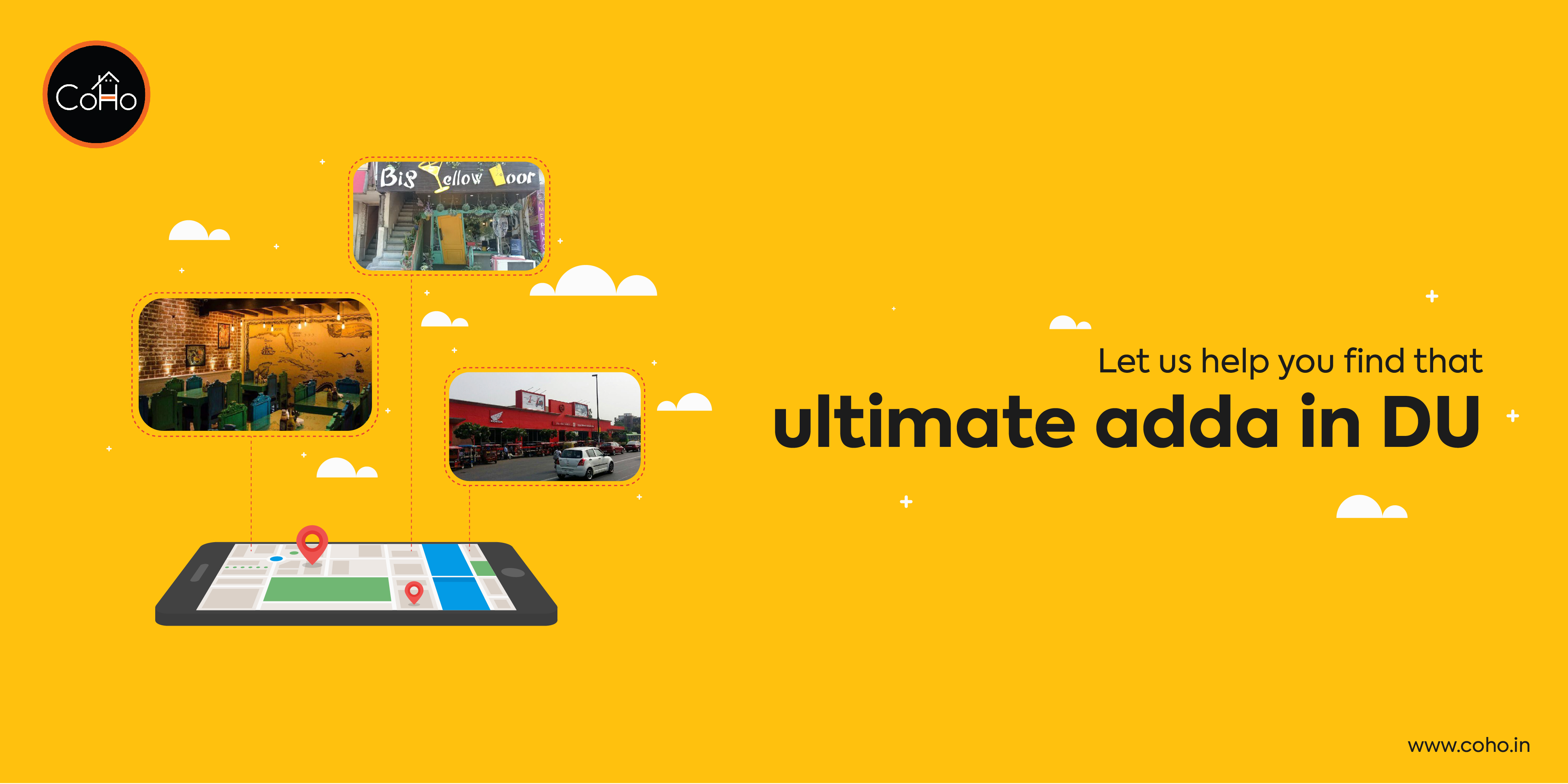 Let us help you find that ultimate adda in DU