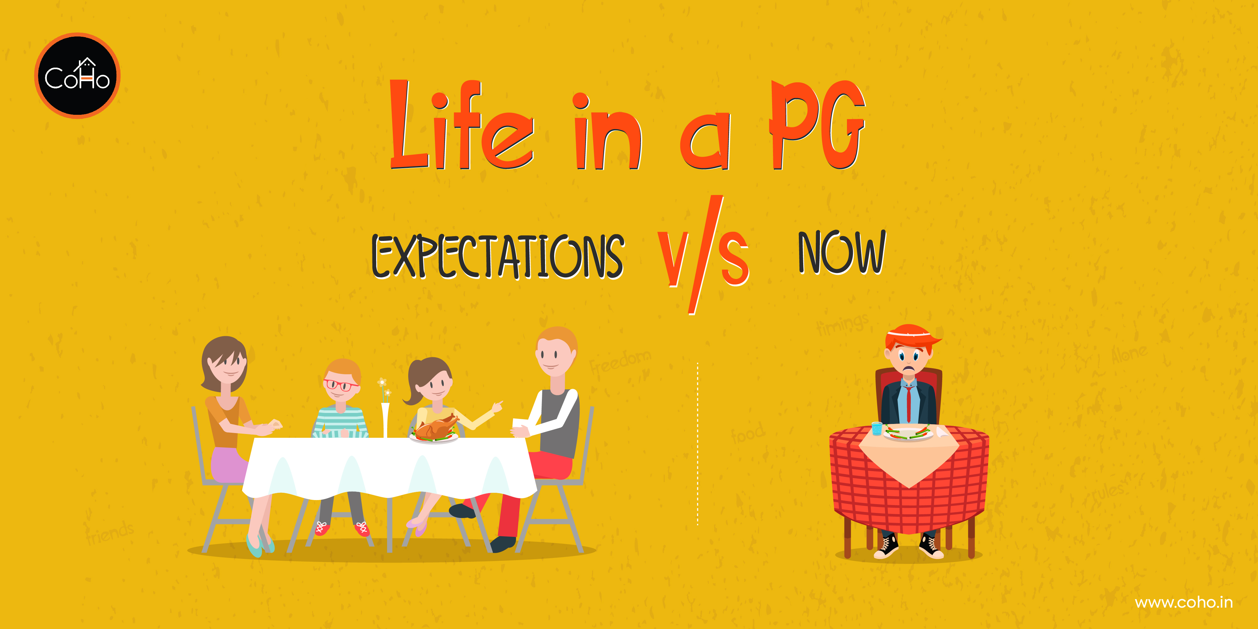 Things you'll relate to only if you have lived in a PG