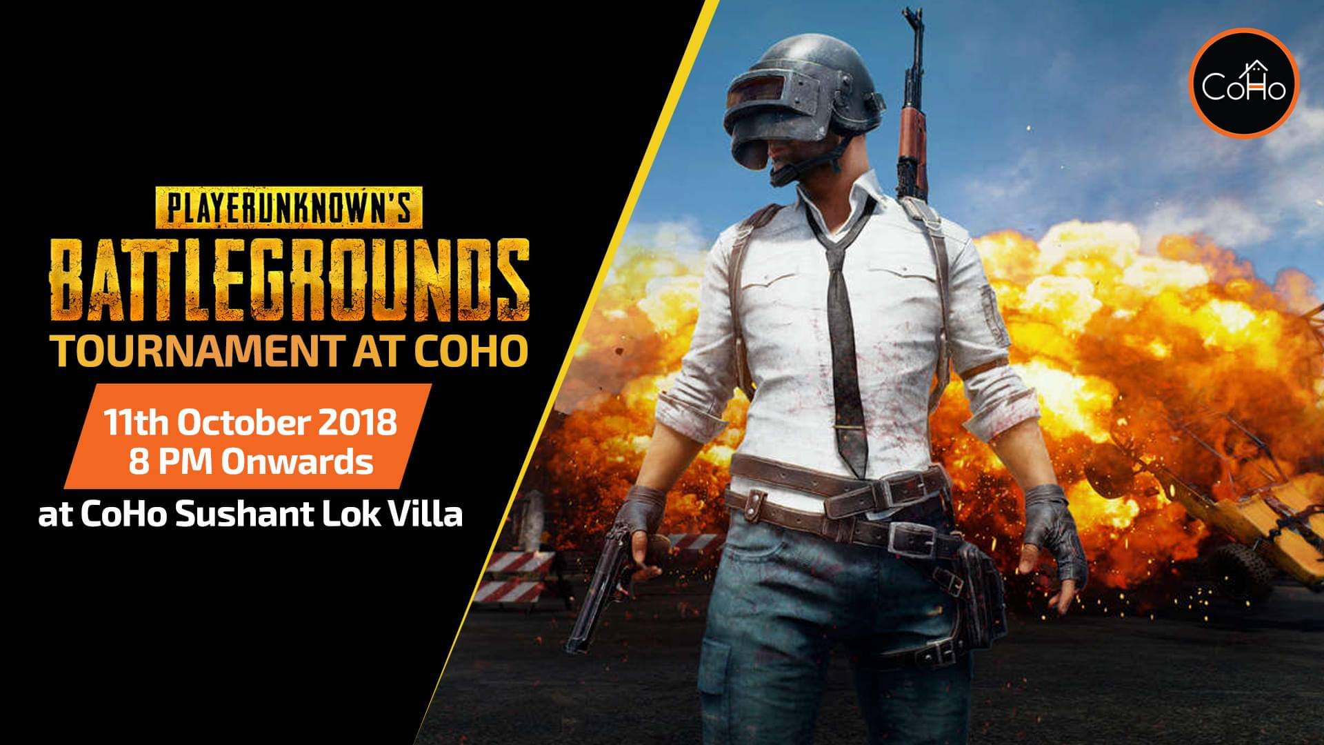 PUBG tournament at CoHo
